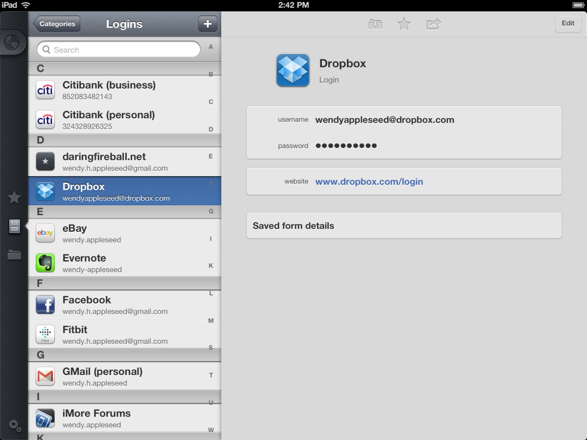 1Password — Easy Password Management
