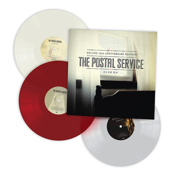 The Postal Service's 'Give Up' Deluxe 10th Anniversary Edition