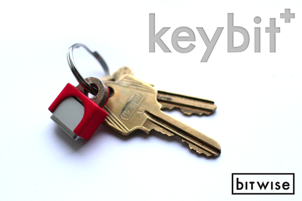 KeyBit: The MagSafe Adapter Key Ring
