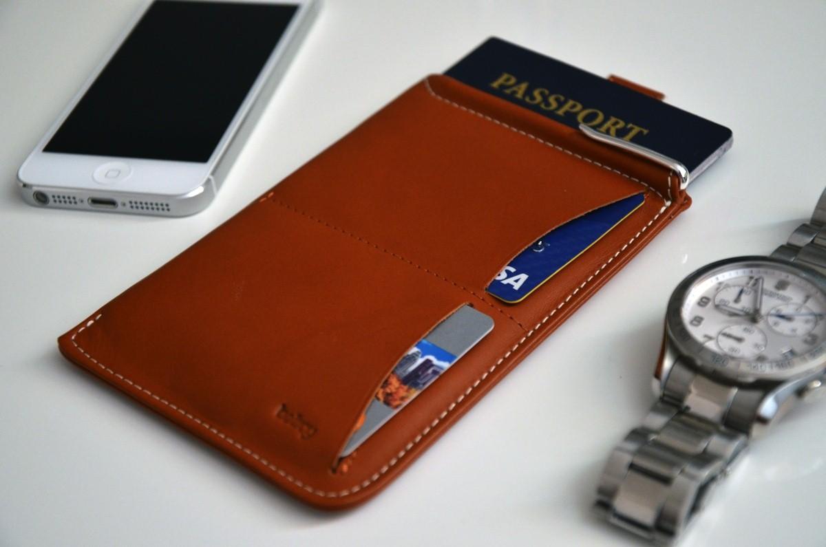 Bellroy's Passport Sleeve Wallet