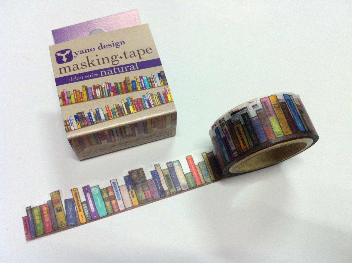 Bookshelf Masking Tape