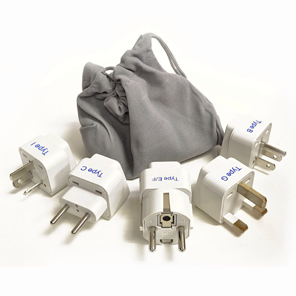 Ceptics International Plug Adapter Set
