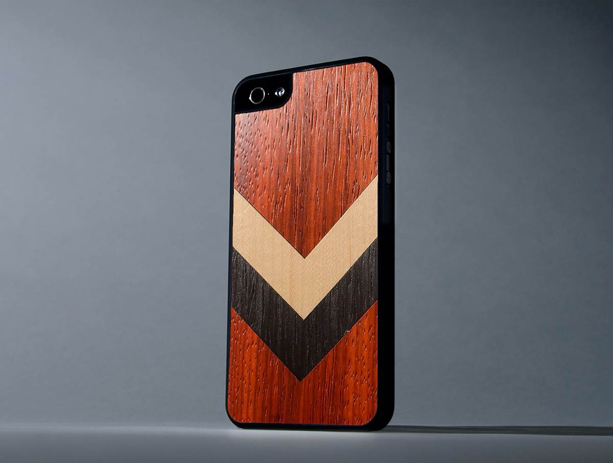 Corporal Inlay Wooden Case for iPhone 5/5s