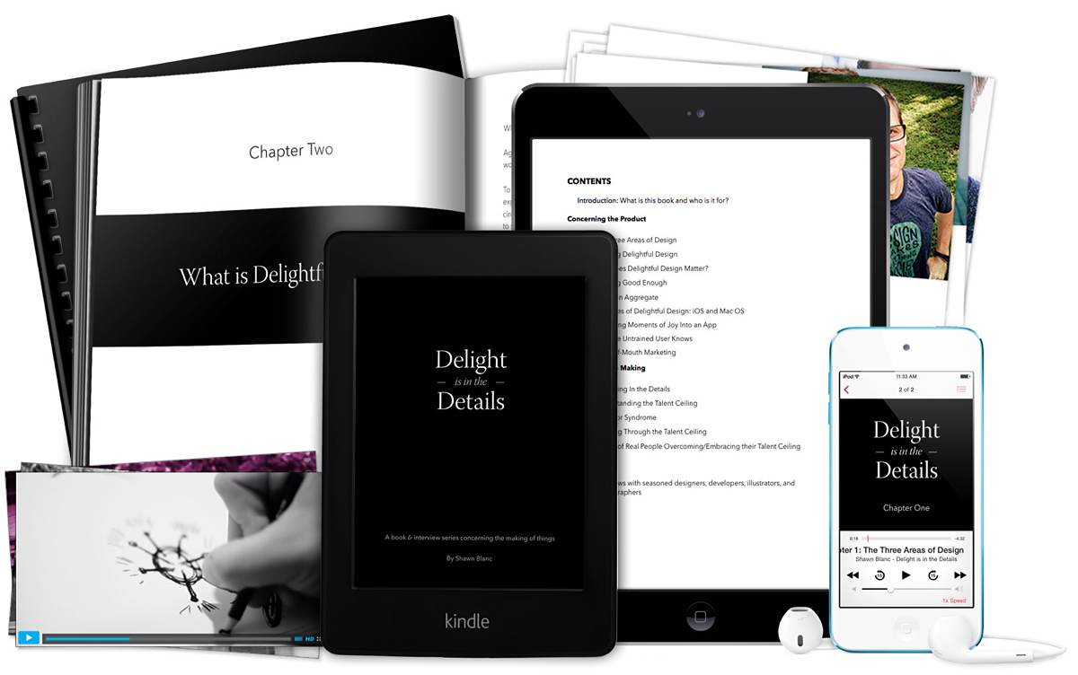 Big Update to Shawn's eBook, 'Delight is in the Details'