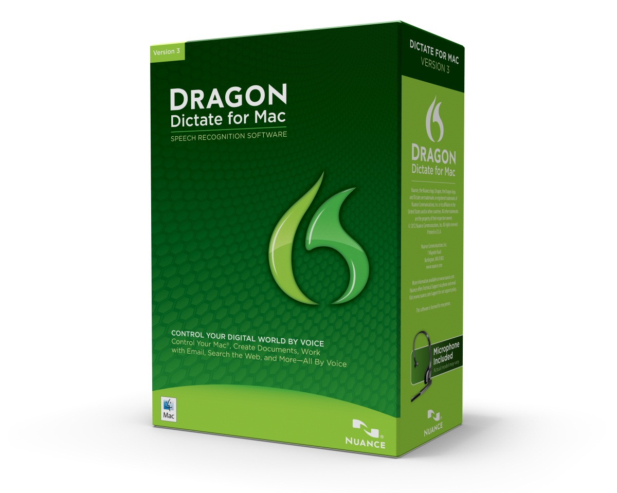 Dragon Dictate 3 for Mac