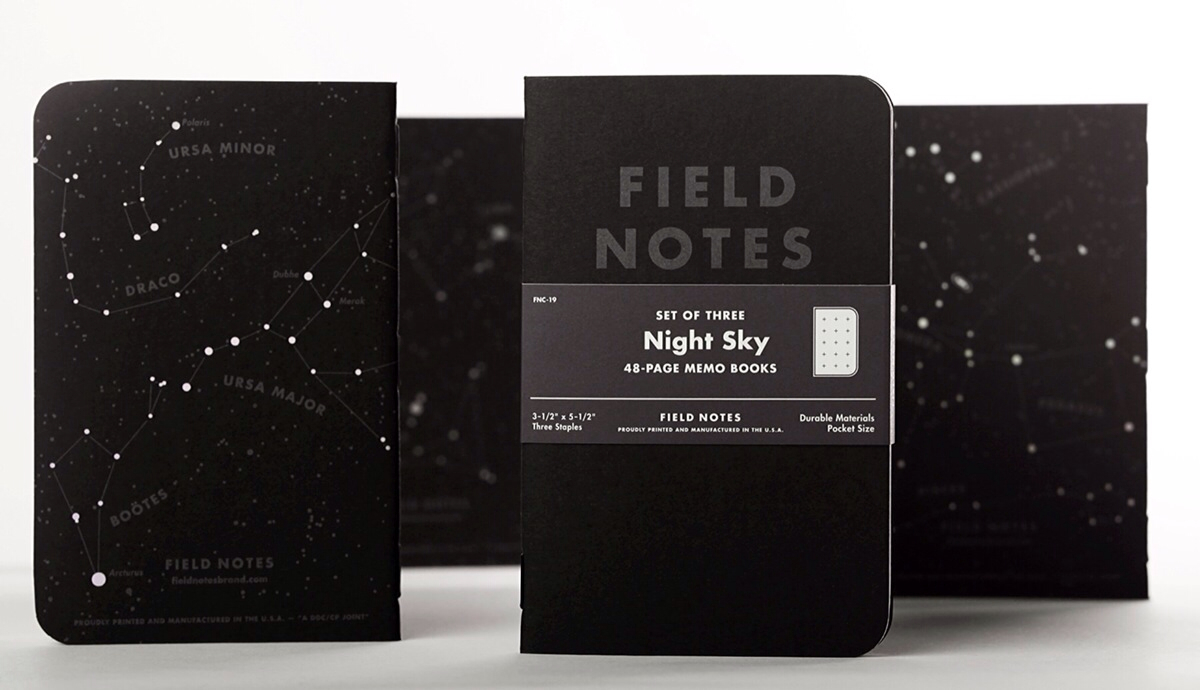 Field Notes – 'Night Sky' Edition