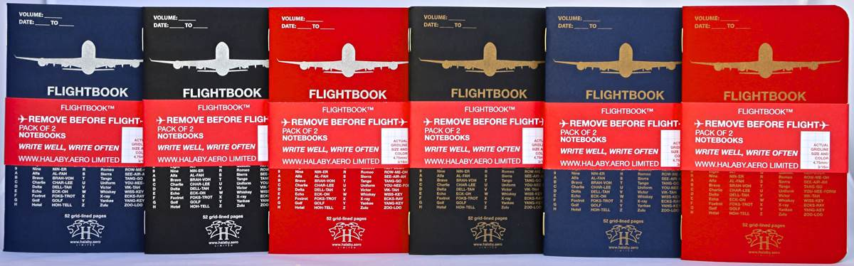 FLIGHTBOOK Notebooks