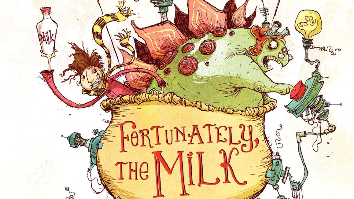 'Fortunately, the Milk' by Neil Gaiman