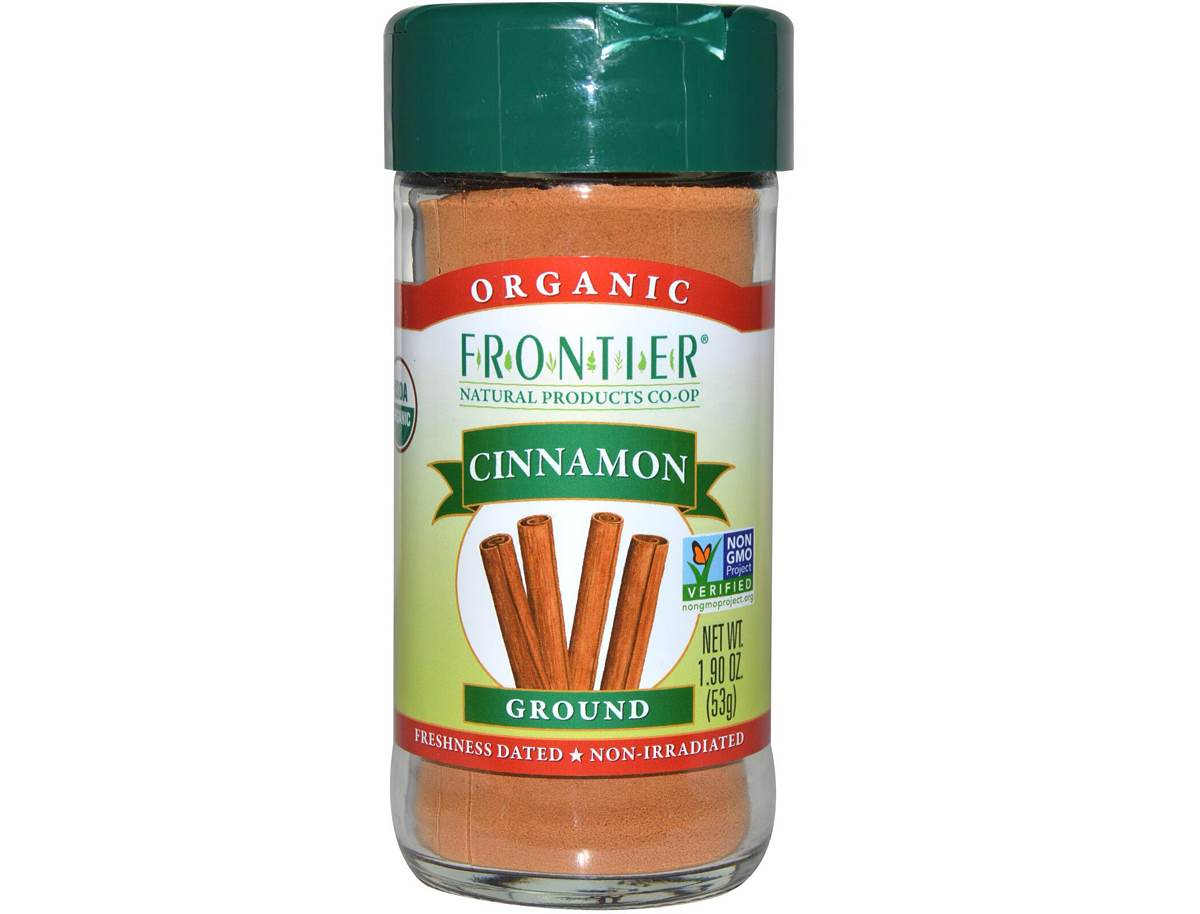 Frontier Organic Ground Ceylon Cinnamon