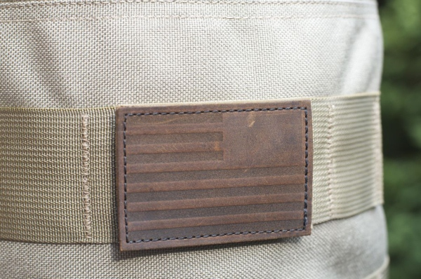 GORUCK Leather Reverse Flag Patch