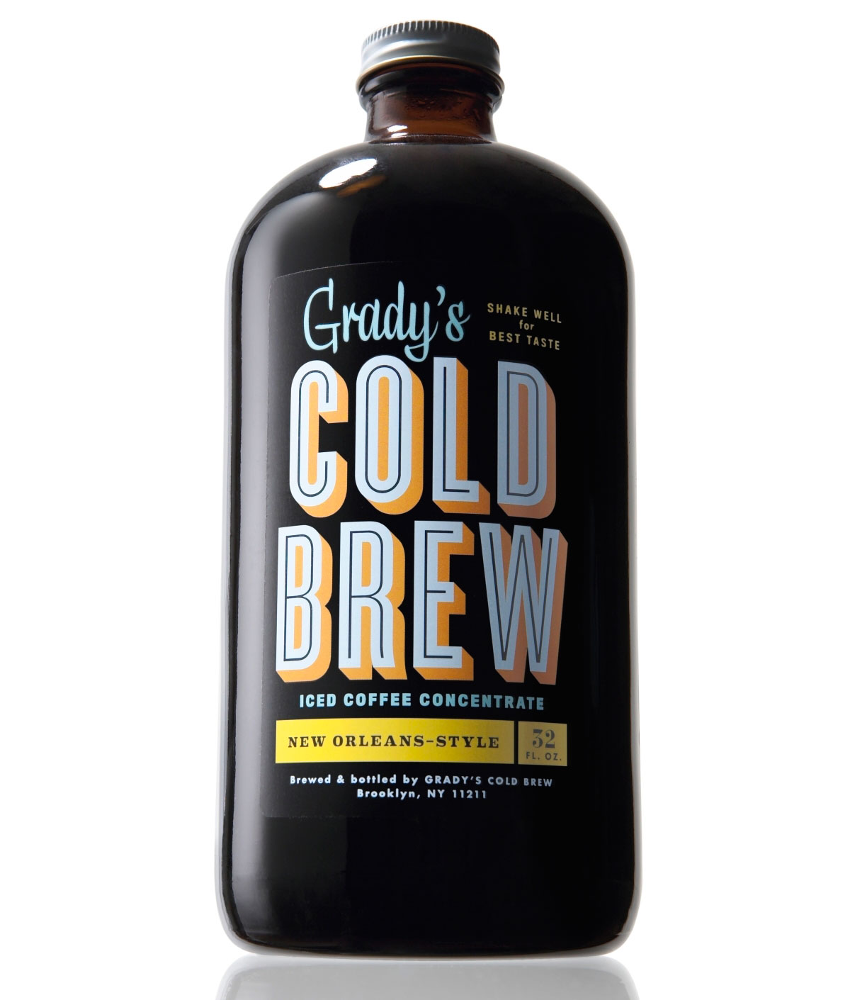 Grady&#8217;s Cold Brew Iced Coffee Concentrate