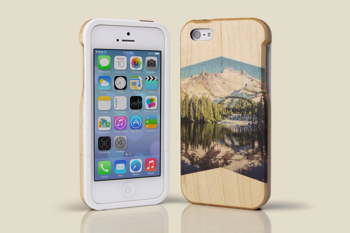 Grove WoodPrint Case for iPhone 5 and 5s