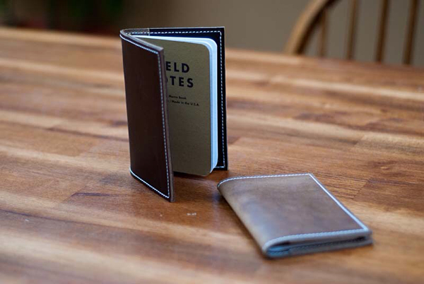 Hellbrand Leatherworks Field Notes Cover