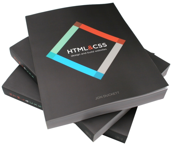 &#8220;HTML and CSS: Design and Build Websites&#8221; by Jon Duckett