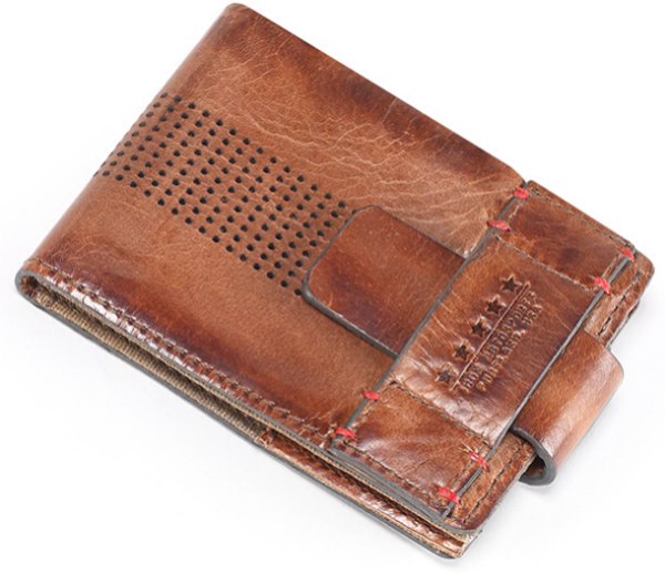 Icon 1000 Navigator Leather Wallet