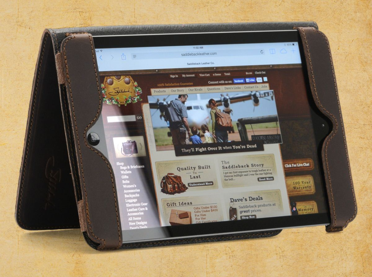 iPad Cases by Saddleback Leather