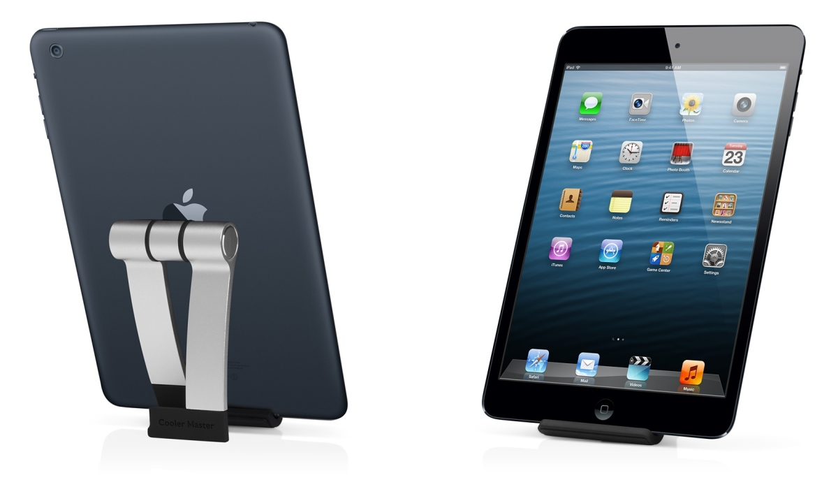 JAS mini — Aluminum Stand for iPad mini and iPhone