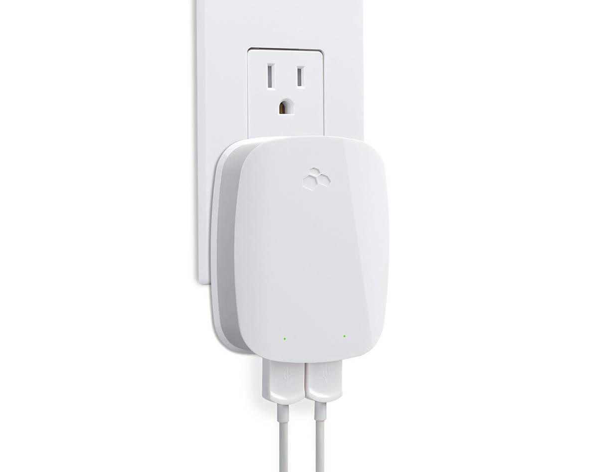 Kanex DoubleUp — Two-Port USB Wall Charger for iPad and iPhone