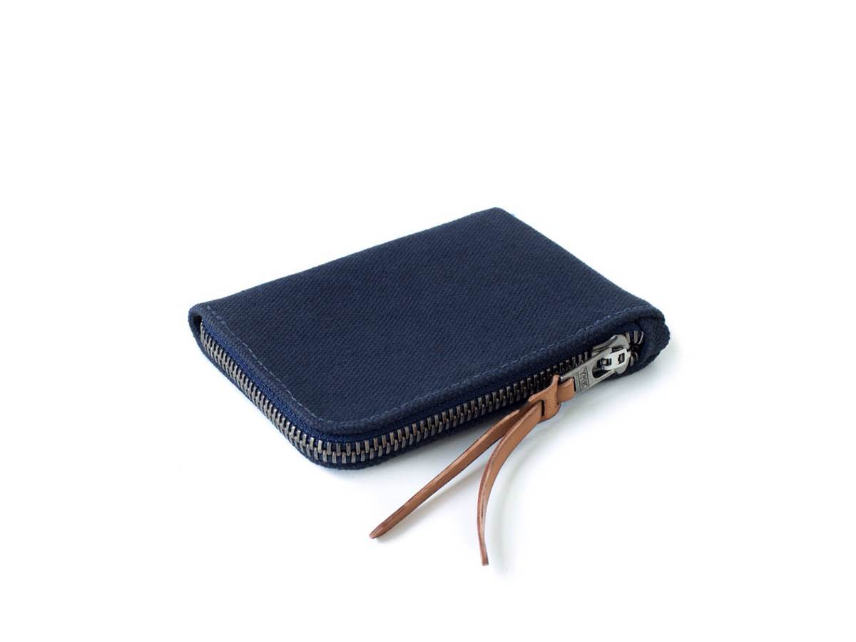 MAKR Canvas Zip Slim Wallet