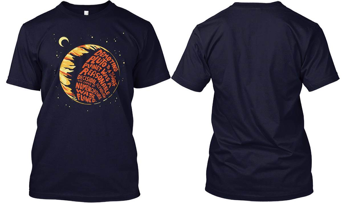 'Nuanced Opinion on Pluto' T-Shirt