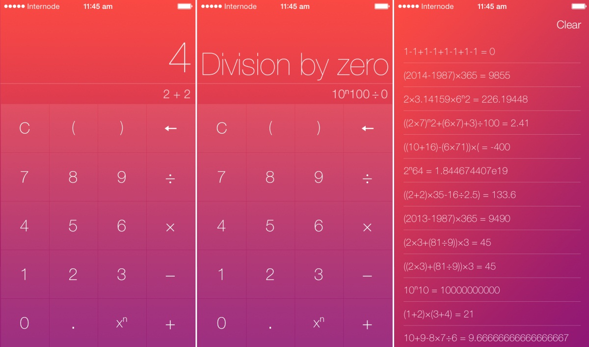 Numerical — A Beautiful Calculator for iPhone