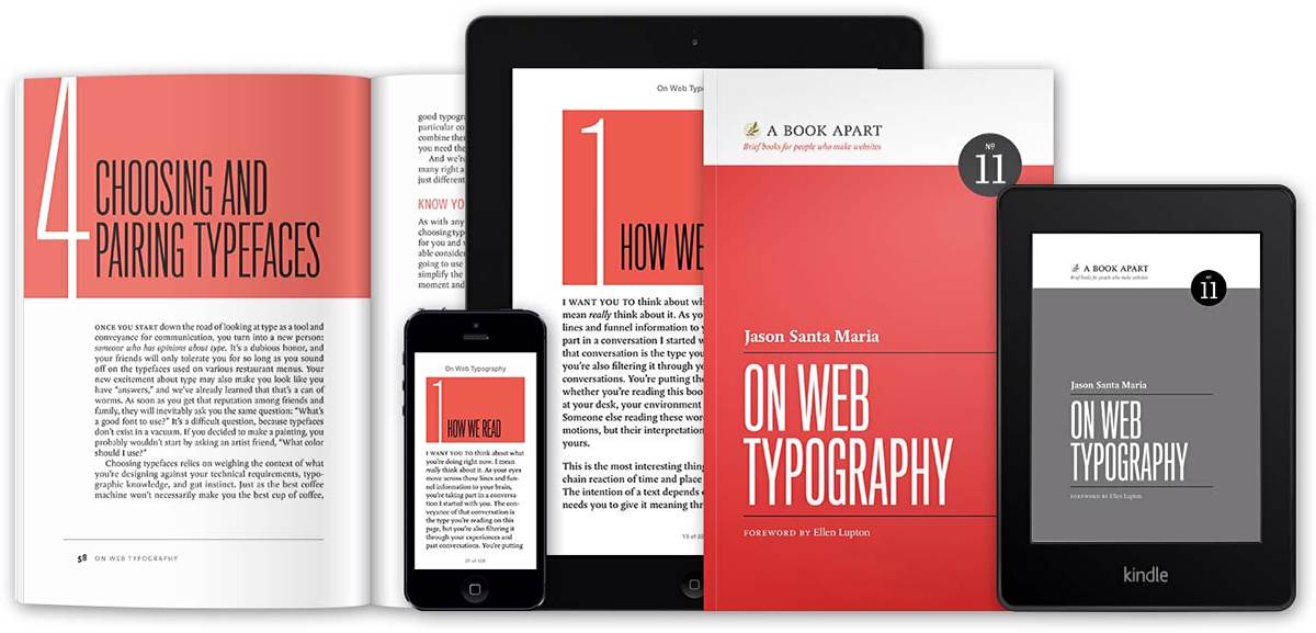 'On Web Typography' by Jason Santa Maria