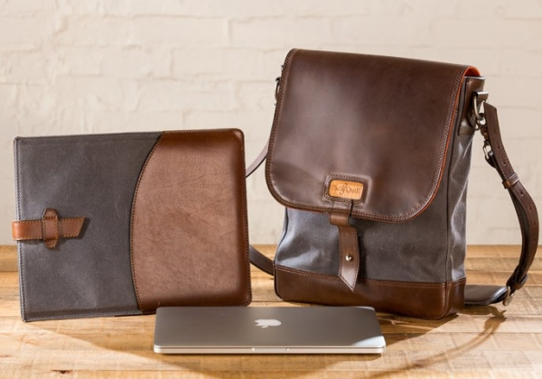 Pad & Quill's New Line of Leather Bags and Sleeves