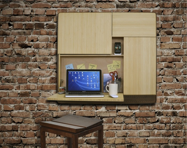 Podpad — Wall-Mounted Workstation