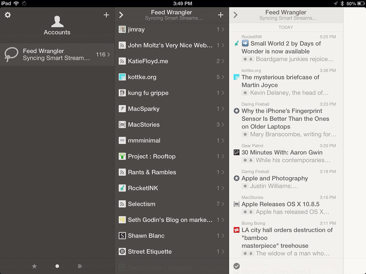 Reeder 2 for iOS
