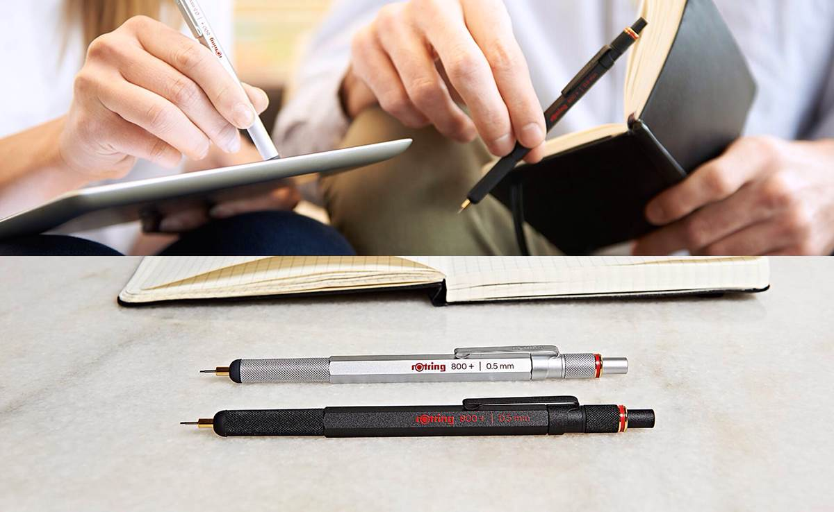 Rotring 800+ Mechanical Pencil and Stylus Hybrid