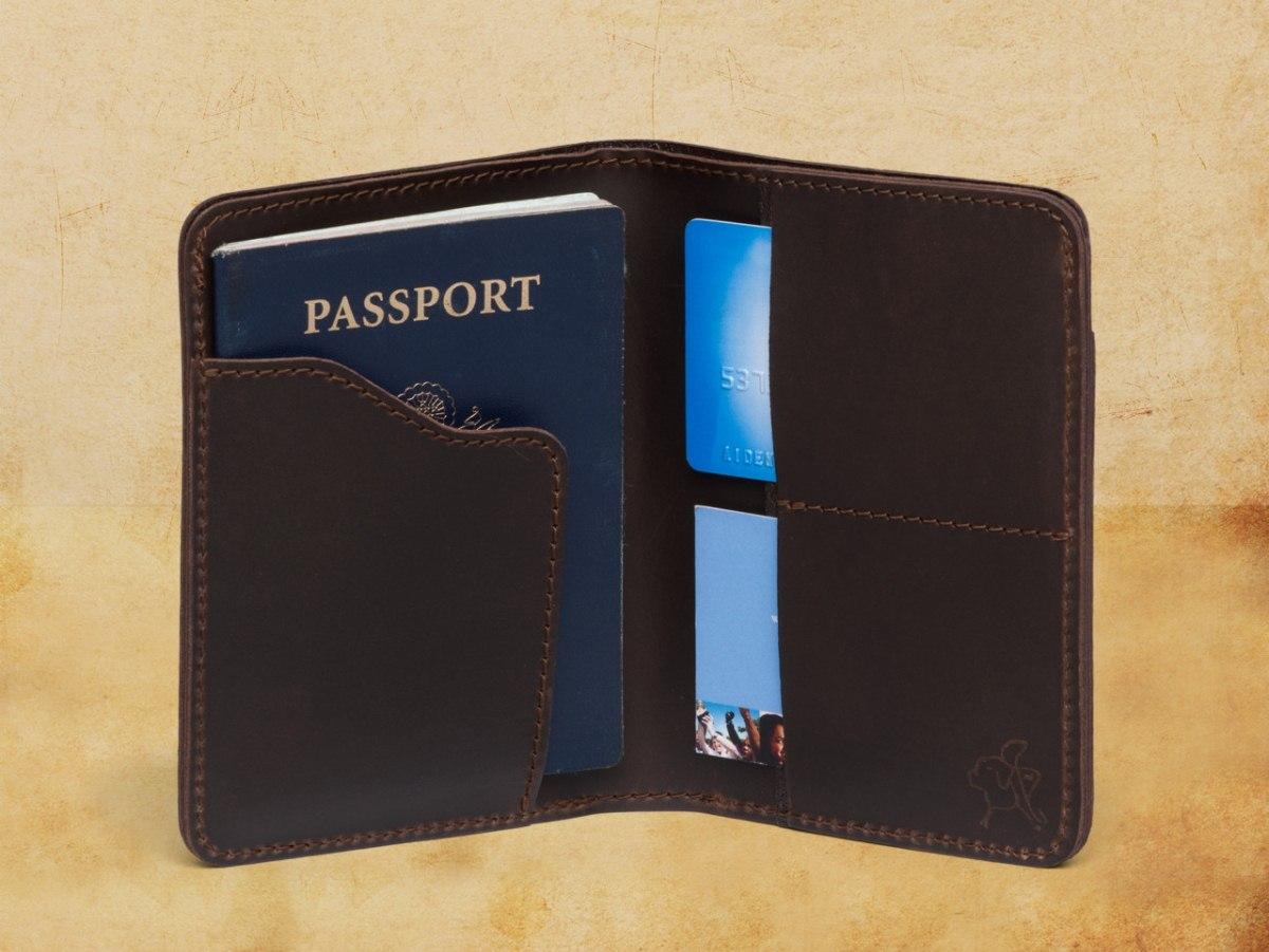 Saddleback Leather Passport Wallet