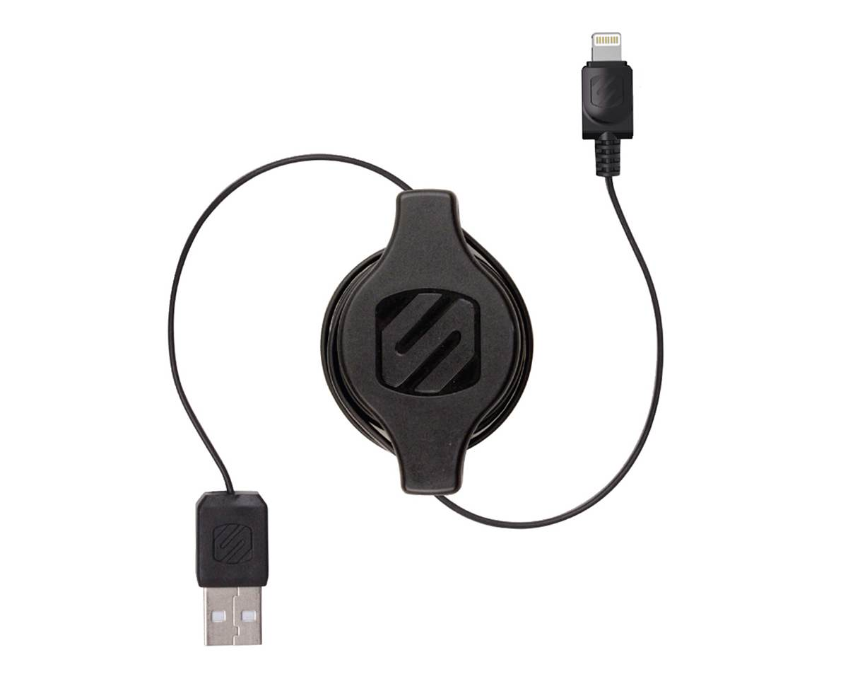 Scosche Retractable Lightning Cable