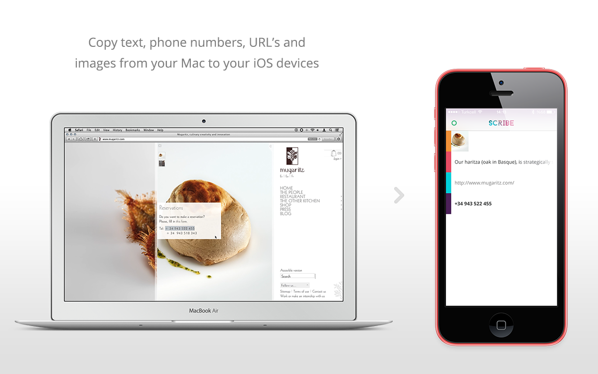 Featured Sponsor: Scribe: Copy and paste anything from your Mac to your iPhone, without Wi-Fi