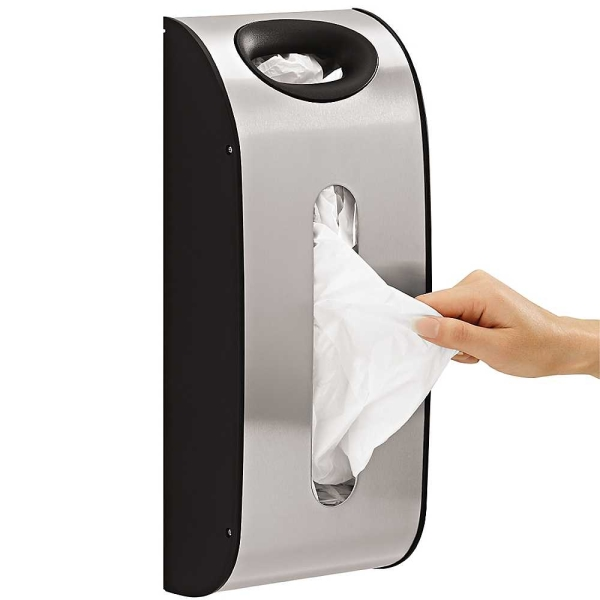 Simplehuman Wall-Mountable Grocery Bag Dispenser