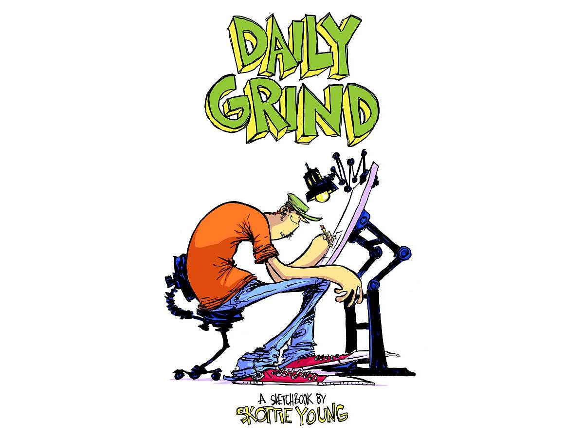 Skottie Young's 'Daily Grind' Sketchbook