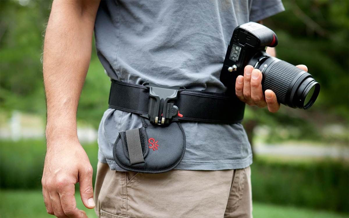 SpiderHolster Black Widow Camera Holster