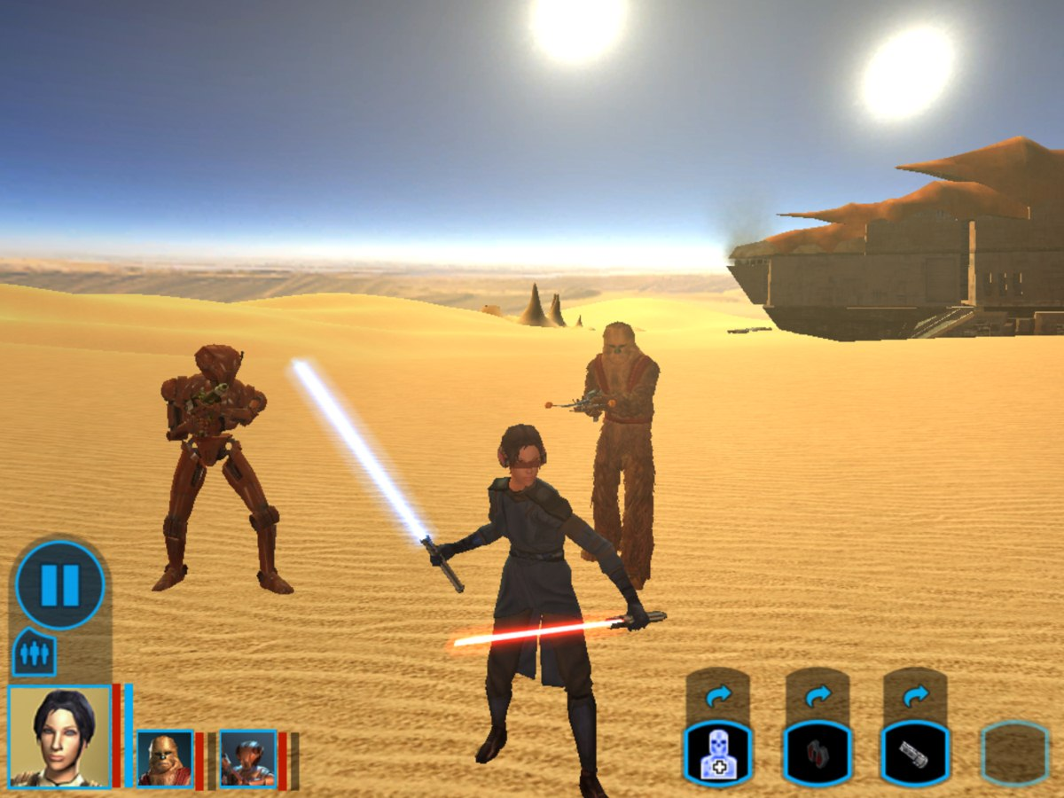 'Star Wars: Knights of the Old Republic' for iOS