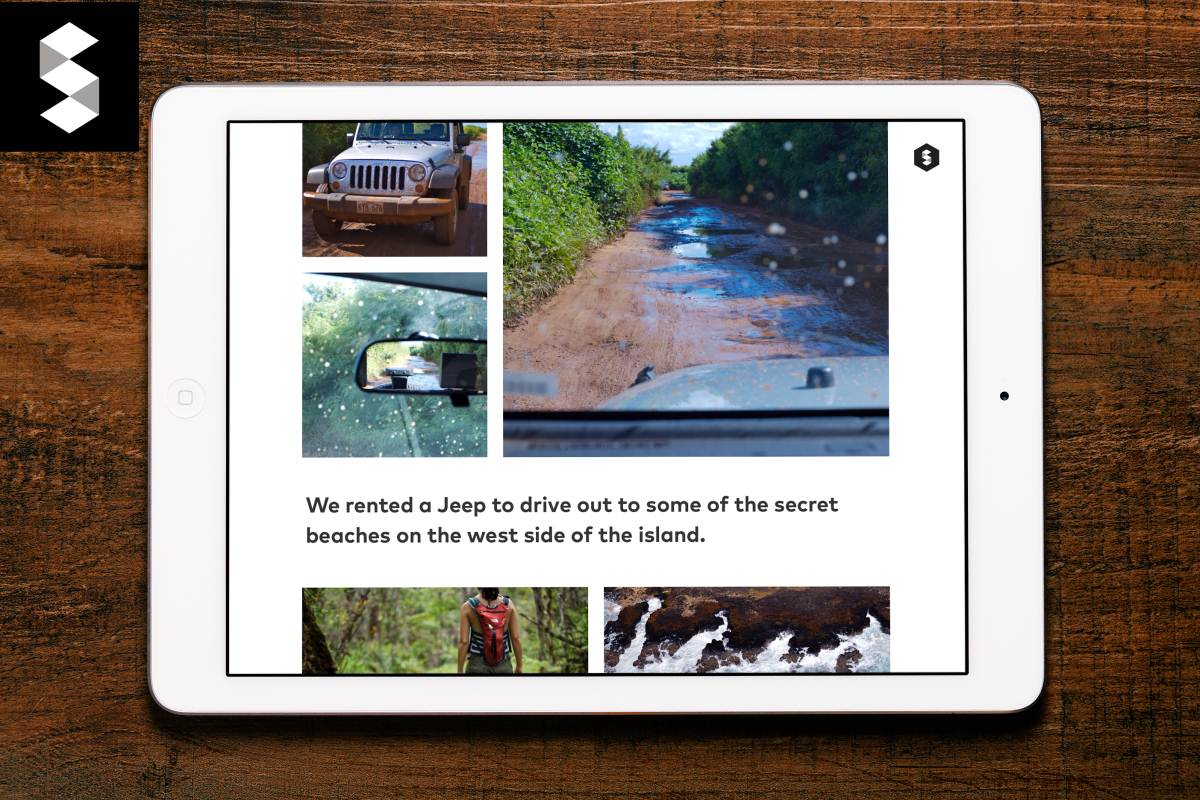 Storehouse: Visual Storytelling for iPad