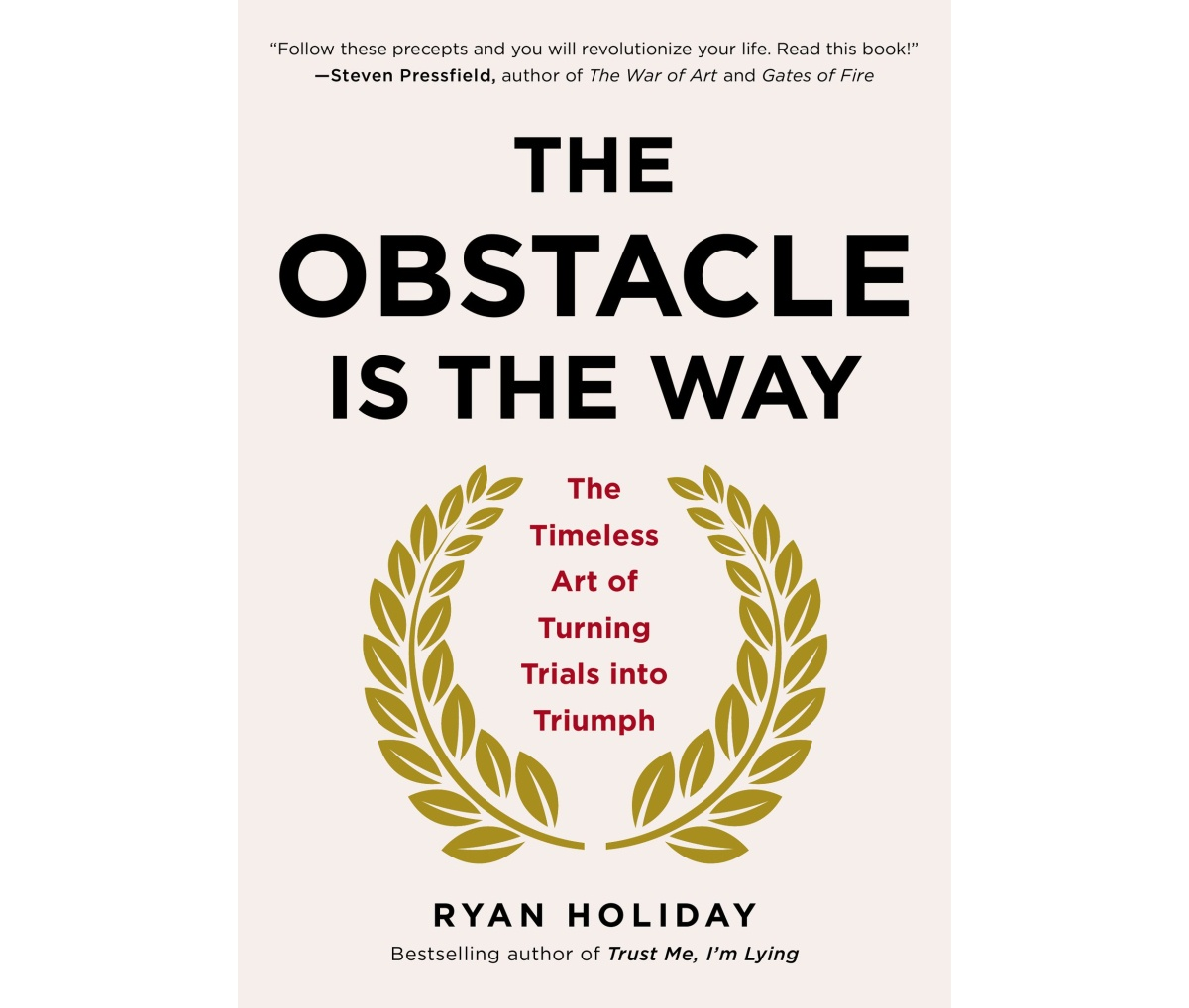 'The Obstacle is the Way' by Ryan Holiday