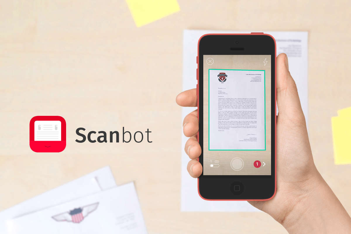 Featured Sponsor: Scanbot for iPhone and Android – PDF Scanner