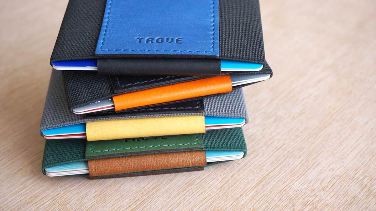 TROVE Slim Wallet & Card Case