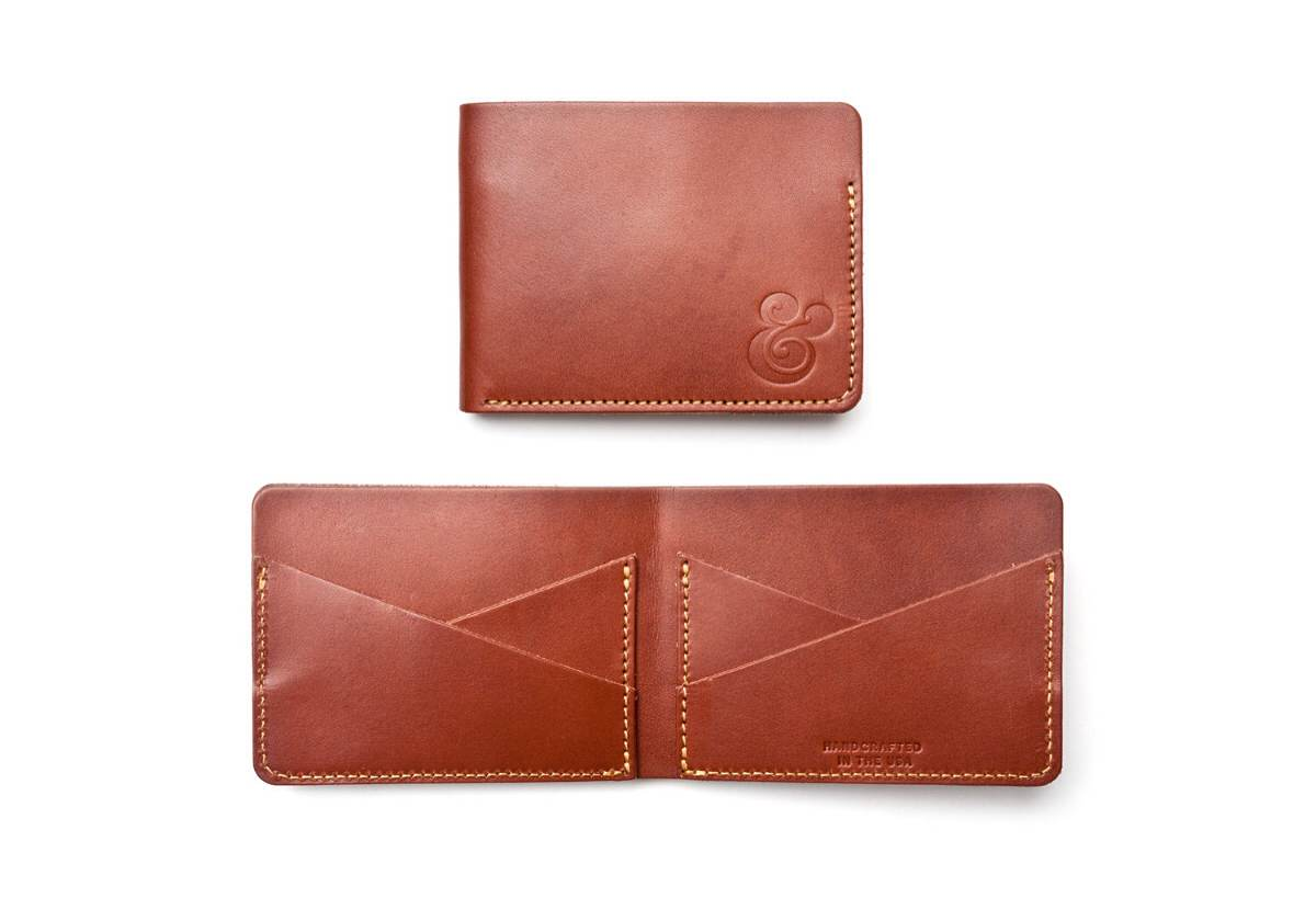 Ugmonk Cross Pocket Leather Wallet