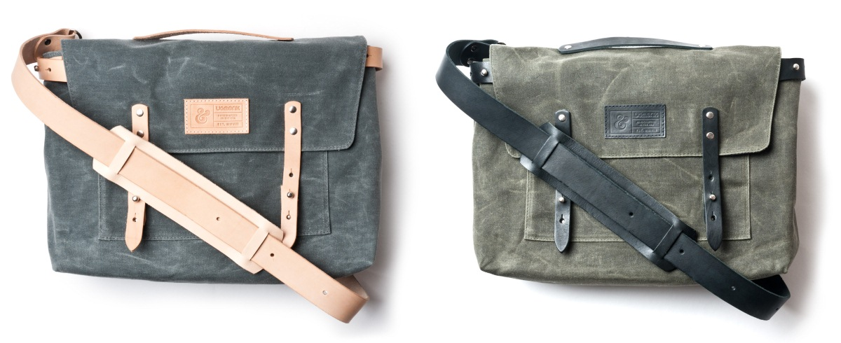 Ugmonk Waxed Canvas Messenger Bag