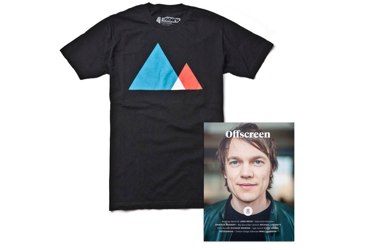 Ugmonk T-Shirt + Offscreen Mag Bundle