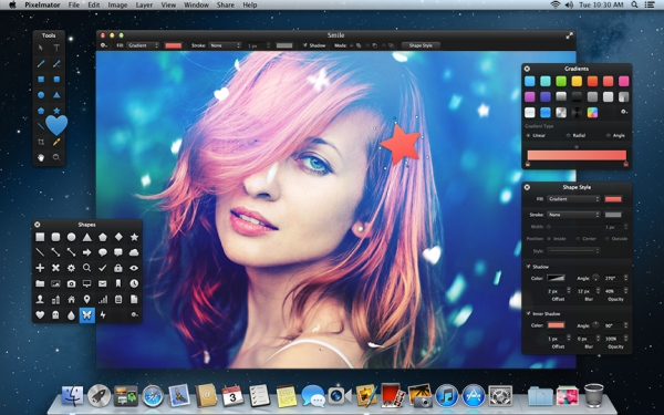 Pixelmator 2.2 and Vectormator