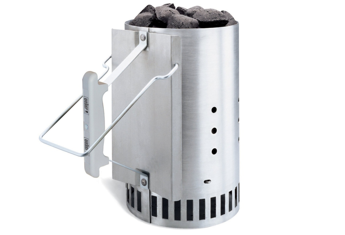 The Weber Rapidfire Chimney Starter