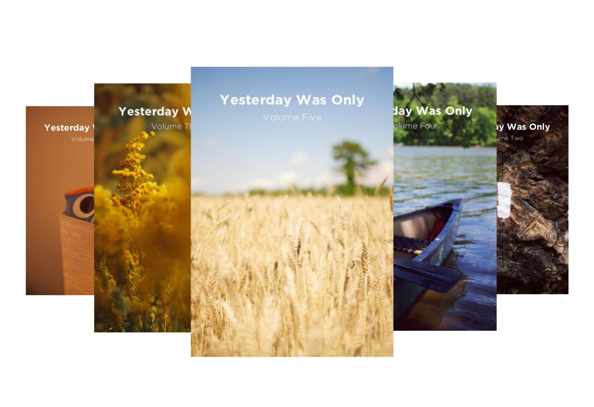 'Yesterday Was Only' Book Series